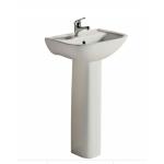 RAK Lara Pedestal Basin-Gloss Ivory