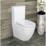 Alix Back-to-Wall Rimless Toilet Suite
