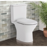 Chica Close-Coupled Rimless Toilet Suite