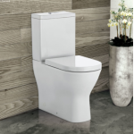 Delta Back-to-Wall Rimless Nano-Glaze Toilet Suite