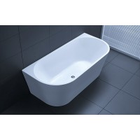 Back To The Wall Bathtub