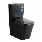 Midy-Black Wall Faced Toilet Suites