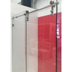 Frameless Sliding Door Wall To Wall Shower Screen 1500-1750*2H