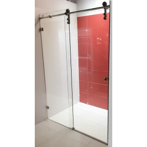 Frameless Sliding Door Wall to Wall Shower Screen 1050-1200*2H