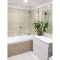Over Bath Tub Shower Screen