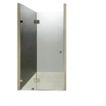 Frameless Wall To Wall Shower Screen 800-850 *2000