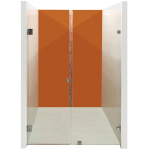Frameless Wall To Wall Shower Screen 800-900 *2000