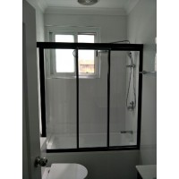 Fully Framed Wall To Wall Shower Screens