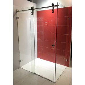 Frameless Sliding Door Shower Screen 1050-1200 *900